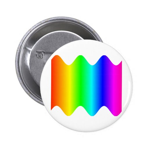 Wavy Rainbow Pin