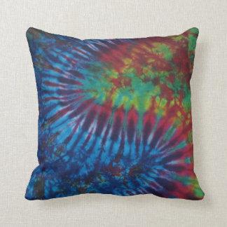 Wavy Stripe Tie Dye American MoJo Pillow