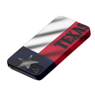 Wavy Texas Flag Blackberry Bold Case-Mate Case iPhone 4 Case-Mate Cases