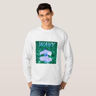 Wavy Vaporware Crew neck Sweatshirt
