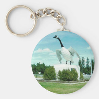 wawa1goose basic round button key ring