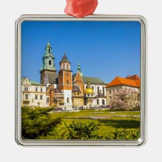 Wawel Castle, Krakow, Poland Metal Ornament