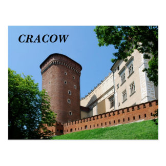 Wawel Royal Castle in Cracow Postcard