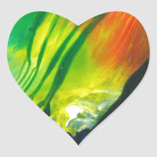 Wax Art 0001 Heart Sticker