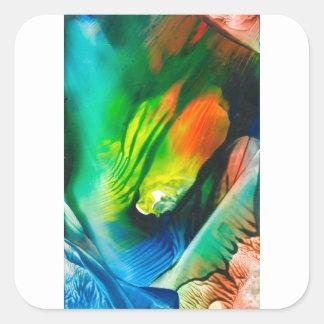 Wax Art 0001 Square Sticker