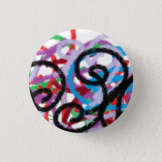 Waxornamente 3 Cm Round Badge