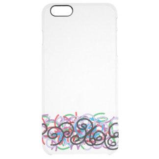 Waxornamente Clear iPhone 6 Plus Case