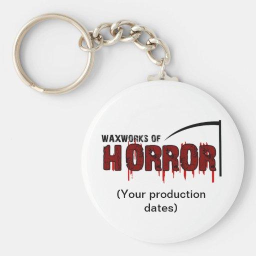 Waxworks of Horror Memento Key Chain