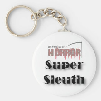 Waxworks of Horror Winner Prize Basic Round Button Key Ring