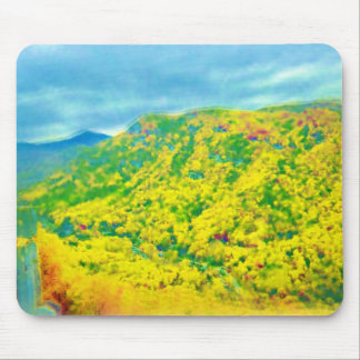 Way Above the Mountains Air Brushed Mouse Pad