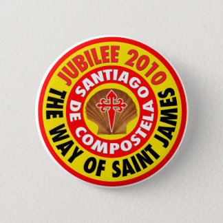 Way of Saint James the Greater 6 Cm Round Badge