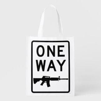 Way of the Gun Reusable Grocery Bag