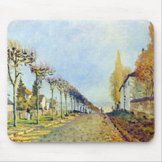 Way of the machine, at Louveciennes by Sisley Mousepad
