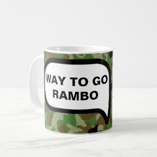 Way to Go! Congratulations! Get Back To Work Coffee Mug