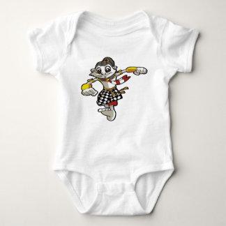 wayang puppet kids baby bodysuit