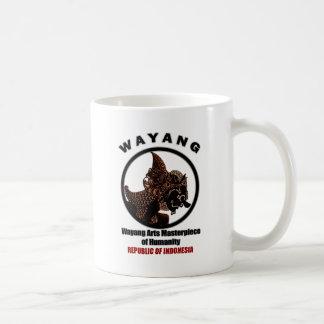 Wayang World Art Masterpiece Coffee Mug