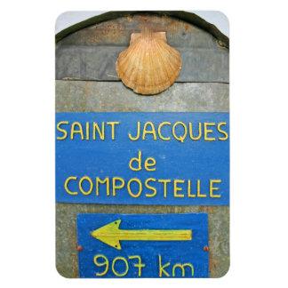 Waymark French Camino 1 Magnet