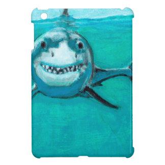 """Wayne"" The Great White Shark Case For The iPad Mini"