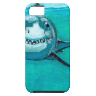 """Wayne"" The Great White Shark Case For The iPhone 5"