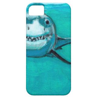 """Wayne"" The Great White Shark iPhone 5 Covers"