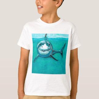 """Wayne"" The Great White Shark T-Shirt"