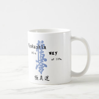 wayoflife-kanji coffee mug