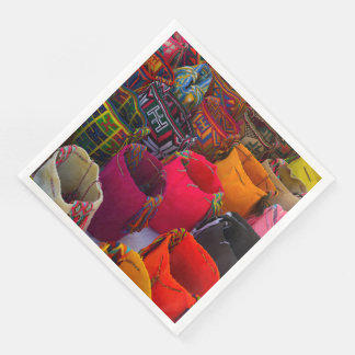 Wayuu mochilas bags for sale in Colombia Paper Napkins