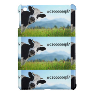 wazaaaaap cow cover for the iPad mini