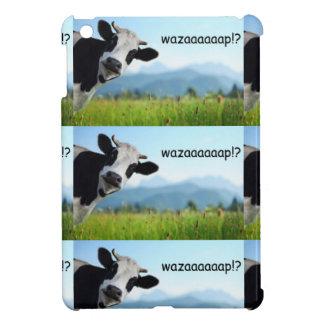 wazaaaaap cow iPad mini covers