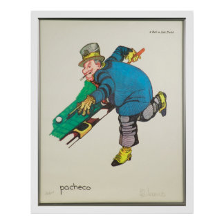 WC Fields Pool Poster