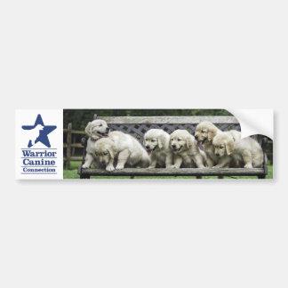 WCC Holly's Half Dozen bench bumper sticker