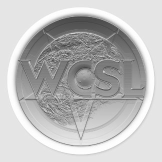 WCSL logo medallion stickers