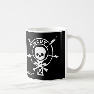 WCUT Radio black Mug