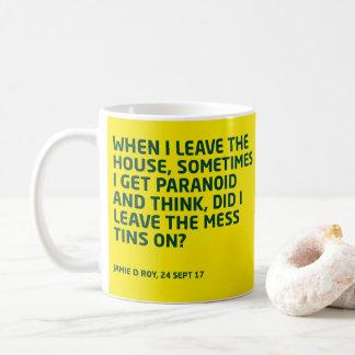 WDYHC no12b mess tins Coffee Mug