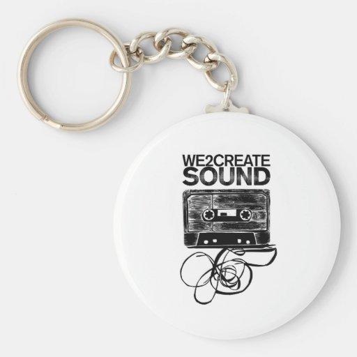 We2Create Sound K7 Key Chains