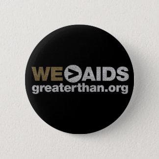 WE > AIDS Button