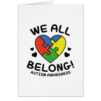 We All Belong Card