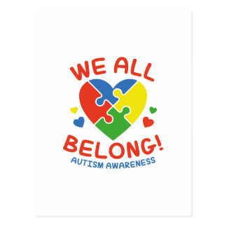 We All Belong Postcard