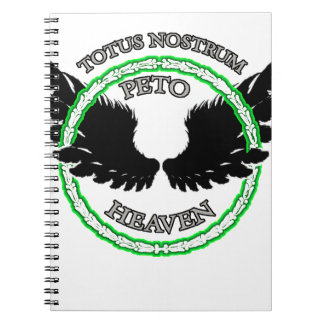 WE ALL GO TO HEAVEN SPIRAL NOTEBOOK