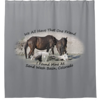 We All Have the One Friend Shower Curtain