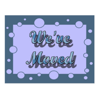 We apos ve Moved Postcard
