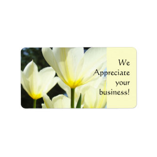 We Appreciate Your Business! Labels Customers