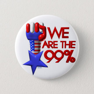 We are 99% rising star 6 cm round badge