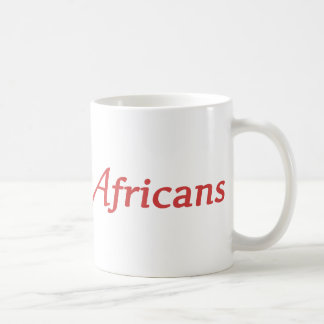 We are all Africans Mug