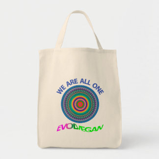We are all one. Grocery bag. Tote Bag