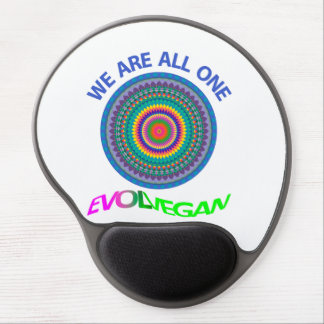 WE ARE ALL ONE - MOUSE GEL PAD GEL MOUSE PAD