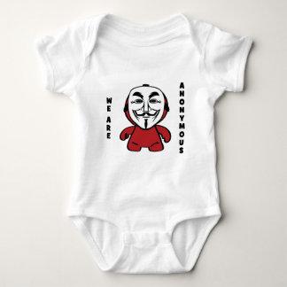 We Are Anonymous Baby Bodysuit