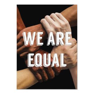 We Are Equal Invite