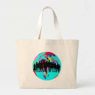 WE ARE FAMILY LARGE TOTE BAG