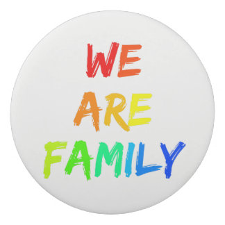 We Are Family Rainbow Adoption, Foster, Blended Eraser